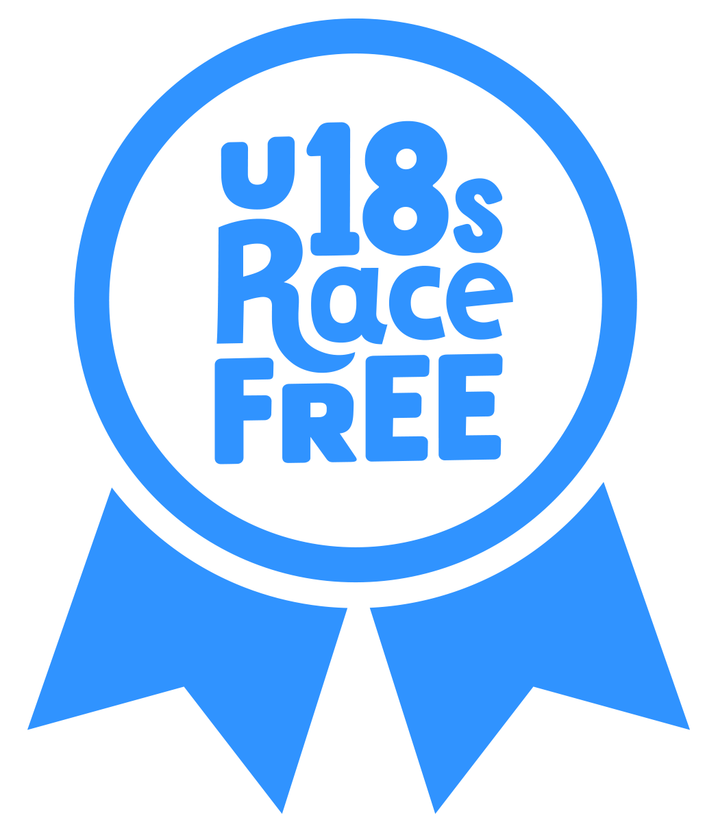 U18's Race Free