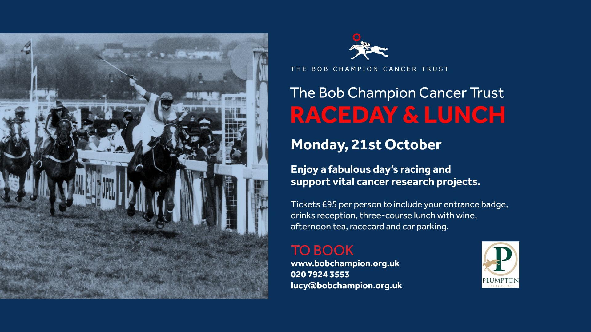 Bob Champion Charity Raceday